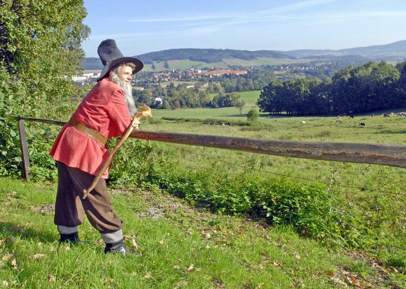 Bild Wandern auf dem Pumphutsteig - Wilthen OT Tautewalde.